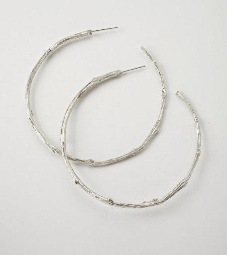 Twig Hoop Earrings...