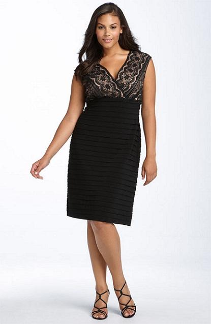 Sexy Black Lace: My Favorite Dress for plus Size Women...