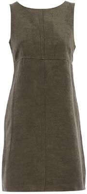 Khaki Seam Detail Dress