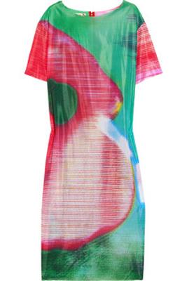 Marni Printed Gauze Dress