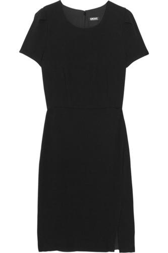 DKNY Crepe Dress