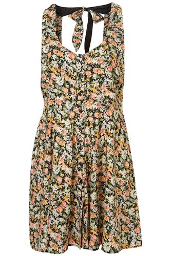 Topshop Floral Dress