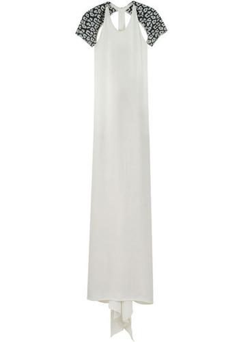 3.1 Phillip Li T-Back Silk Gown
