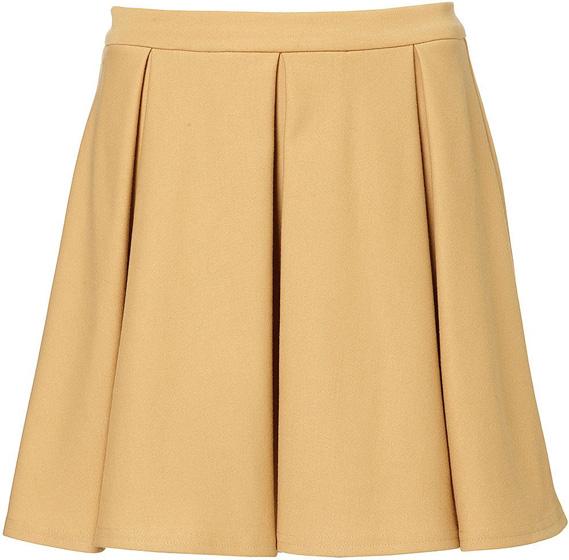 Full Skirt - Topshop Pleated Skater Skirt