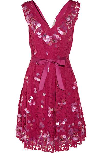 Nina Ricci Taffeta Dress