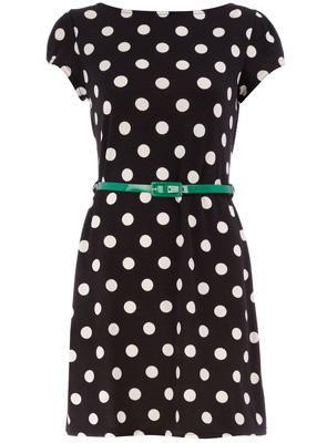 Dorothy Perkins Black Spot Dress