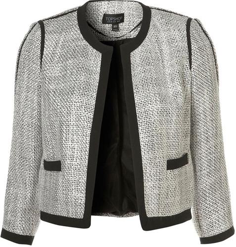 Topshop Boucle Jacket
