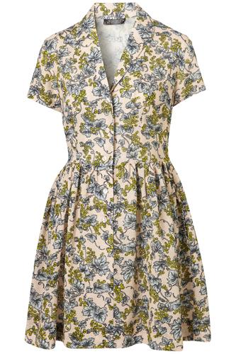 Topshop Wisteria Shirt Dress