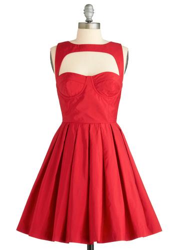 BB Dakota Crimson Sighs Dress