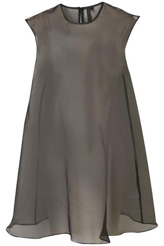 Boutique Organza Tee Dress