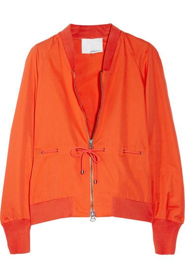 3.1 Phillip Lim Cotton-Blend Twill Jacket