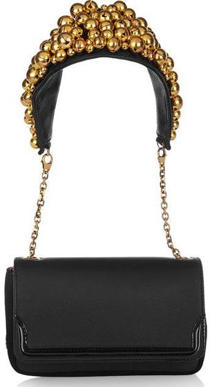 Christian Louboutin Bell-Embellished Shoulder Bag