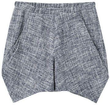 Zero + Maria Cornejo Tweed Shorts