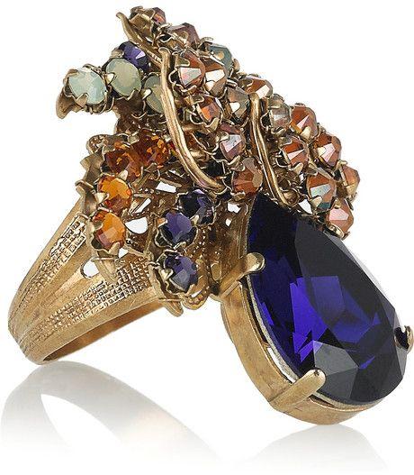 Bijoux Heart Swarovski Crystal Ring