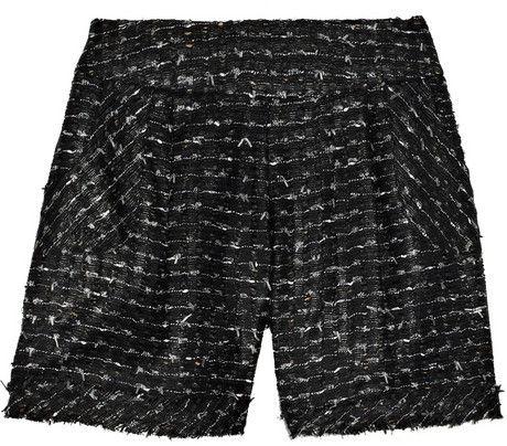 Oscar De La Renta Tweed Shorts