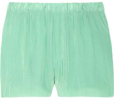 Acne Crinkled Crepe Shorts