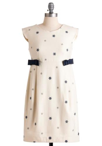 Modcloth Snow Bunny like You Dress