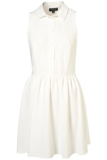 Topshop Crepe Shirt Dress