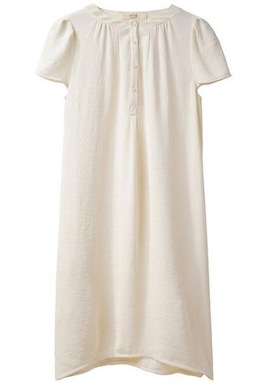 Vanessa Bruno Athé Crepe Henley Dress