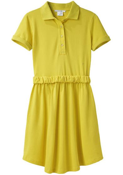 Carven Pique Polo Dress