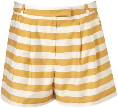 Topshop Co-ord Stripe Fluid Shorts