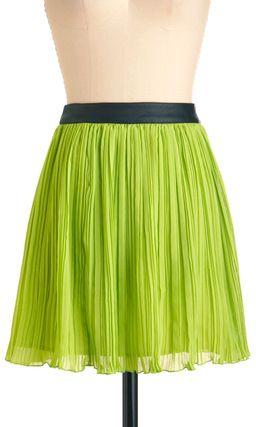 Modcloth a Fine Lime Skirt