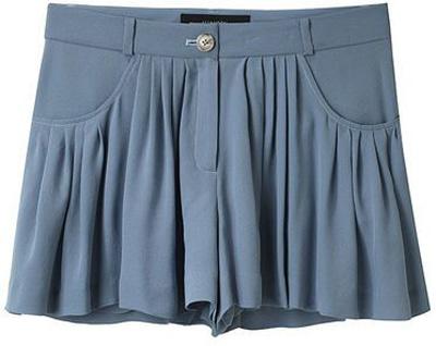 Thakoon Addition Volume Pocket Shorts