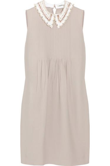 Miu Miu Detachable Collar Dress