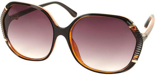 Topshop Metal Insert Sunglasses