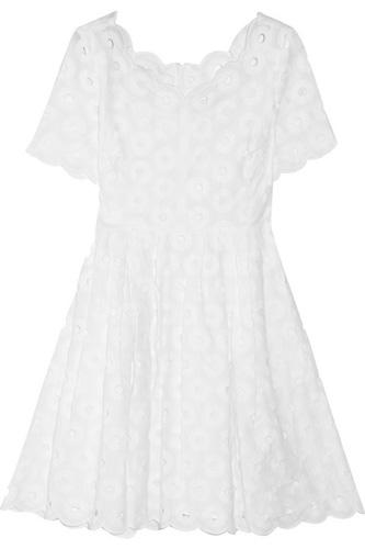 J.Crew Eyelet Embellished Dress