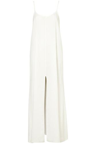 Topshop Strappy Split Maxi Dress