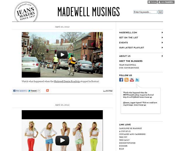 Madewell – Madewell Musings