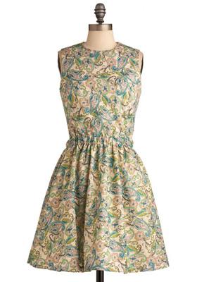 Gonsalves & Hall Paisley Dress