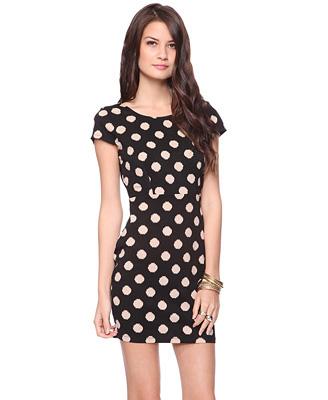 Forever21 Knit Dot Dress