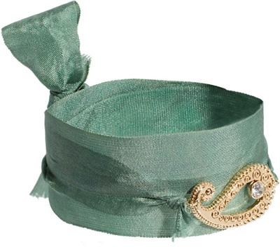 Orelia Paisley Ribbon Wrap Bracelet