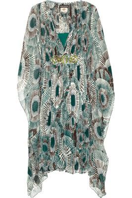 Antik Batik Silk Georgette Kaftan