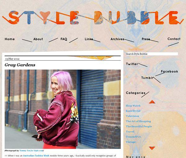 Susanna Lau: Style Bubble