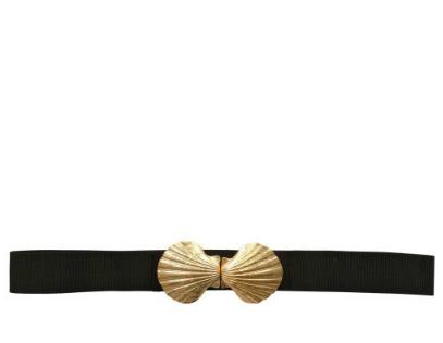 Magda Gomes Beachwear Elastic Shell Belt