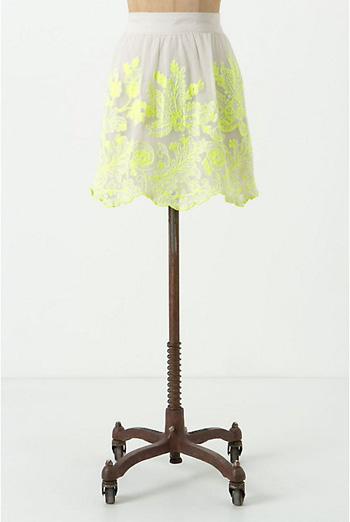 Electric Vines Skirt