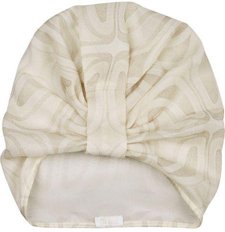 Anna Sui Printed Silk Chiffon Turban