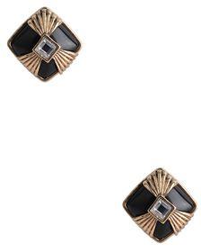 Retro Glam Clip on Earrings