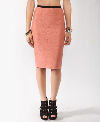 Matelassé Bodycon Skirt