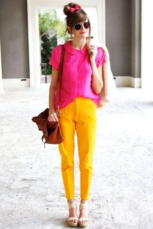 Fashion Color Combinations Orange