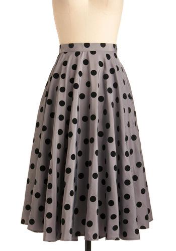 Bettie Page Polka Dot Skirt