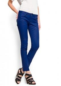 Mango Waxed Effect Jeans