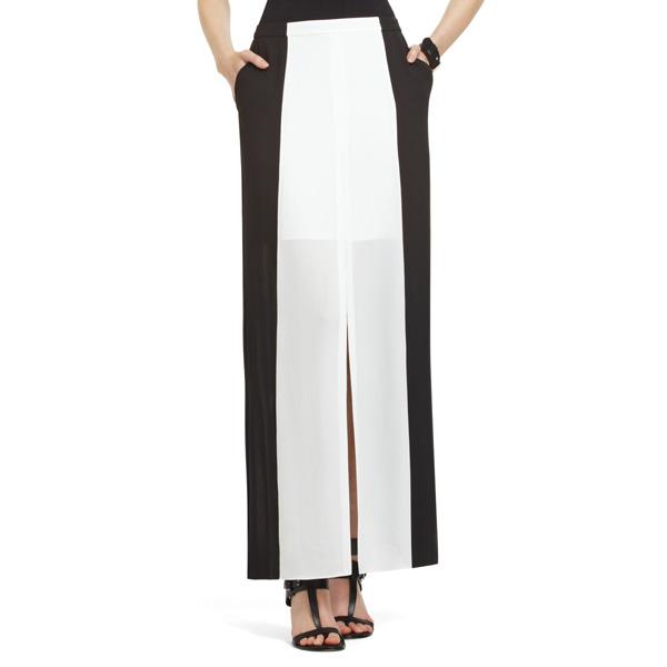 BCBGMaxAzria Sammy High-Slit Maxi Skirt