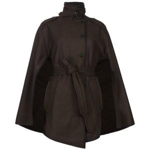 Brown Cape Coat