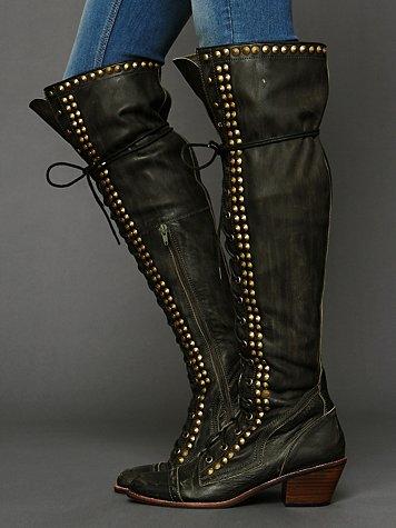 Jeffrey Campbell Studded Joe Tall Boot