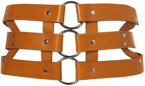 Ring Corset Harness Belt