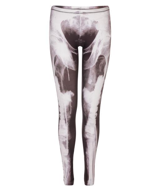 Skeleton Print Leggings